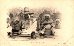 Algérie - Maître D'école Arabe - Métiers