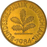 Monnaie, République Fédérale Allemande, 10 Pfennig, 1984, Munich, TTB, Brass - 10 Pfennig