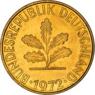 Monnaie, République Fédérale Allemande, 10 Pfennig, 1972, Stuttgart, TTB+ - 10 Pfennig