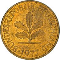 Monnaie, République Fédérale Allemande, 10 Pfennig, 1977, Hambourg, TB+ - 10 Pfennig