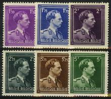 België 641/46 * - Koning Leopold III - Unused Stamps