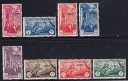 Colonie 1937 Serie Completa Sass. 28/29+46/51 MNH** Cv 25 - Libye