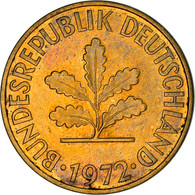 Monnaie, République Fédérale Allemande, 10 Pfennig, 1972, Karlsruhe, TB+ - 10 Pfennig