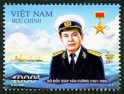 Vietnam Viet Nam MNH Perf, Imperf & Specimen Stamps Sep 13, 2021 : 100th Birth Ann. Of Admiral Giap Van Cuong (Ms1149) - Vietnam