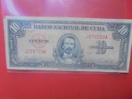 CUBA 10 PESOS 1949 Circuler - Cuba