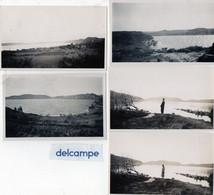6 Photos Anciennes - ISTRES  (13)   Etang De L' Olivier -  Etang De L' Olivier Par Mistral....   ( Années 1930 - 35 ) - Lugares