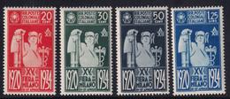 Colonie Emissioni Generali 1934 Serie Completa Sass. 42/45 MNH** Cv 35 - Emissions Générales