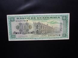 GUATEMALA * : 1 QUETZAL  13.1.1967    P 52d       TTB ** - Guatemala