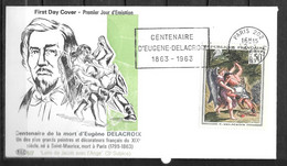 PARIS - Centenaire Eugène Delacroix 1963 - 66 - Sin Clasificación