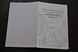 René DENYS Un Acte Inédit De Wauthier II Seigneur D'Enghien Charte Des Biens De La Dotation De L'hôpital De Rebecq Signé - Belgio