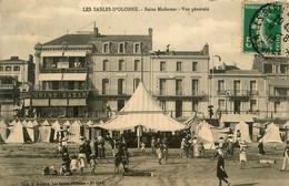 Les Sables D'olonne * Les Bains Modernes * Vue Générale * Commerce Grand Bazar - Sables D'Olonne