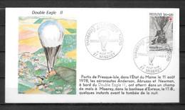 MISEREY - Traversée Atlantique Nord En Ballon Eagle II 1983 - 41 - Sin Clasificación