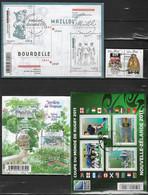 France 2011  - Bloc Feuillet F 4576 - 4580 - 4626 - Et Divers  4586 Et 4587 Tous Oblitétés - Used