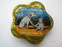 ANCIENNE BOÎTE A AIGUILLES - TETES REPRODUCTEURS DE PHONOGRAPHES - DOG AND BOY BRAND NEEDLES - FOURNIE - 78 Rpm - Gramophone Records