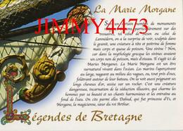 CPM - La Marie Morgane - Légende De Bretagne - Texte Yann BREKILIEN - Edit. Claude PASTOR - Bretagne
