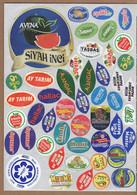 AC - FRUIT LABELS Fruit Label - STICKERS LOT #102 - Frutas Y Legumbres