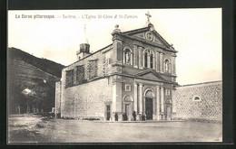 CPA Sarténe, L`Eglise St-Côme Et St-Damien - Zonder Classificatie