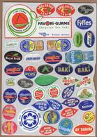AC - FRUIT LABELS Fruit Label - STICKERS LOT #106 - Frutas Y Legumbres