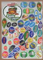 AC - FRUIT LABELS Fruit Label - STICKERS LOT #107 - Frutas Y Legumbres