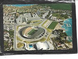 Théme-Sport-FOOTBALL-Une Vue Aérienne Du Stade De Football De La Ville De SPLIT-Croatie - Football