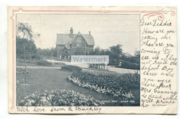 Oldham Park - Keeper's House - 1905 Used Lancashire Postcard - Manchester