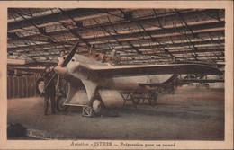 CPA CP Avion Aviation Istres Préparation Pour Un Record 1 11 1930 Bouches Du Rhône France - 1919-1938: Entre Guerras