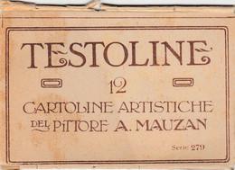 Illustratori - Mauzan - Testoline - F. Piccolo - Nuova - Molto Bella - Astuccio E N° 6 Cartoline - Mauzan, L.A.