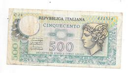 *italy 500 Lire 1976   95 - 500 Liras