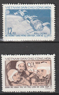 VIETNAM DU NORD - N°776/7 ** (1973) ESPACE : Soyouz II - Vietnam