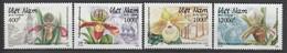 VIETNAM - N°1399/1402 ** (1993) Orchidées - Vietnam
