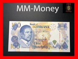 """BOTSWANA 100 Pula 1993   P. 16   **very Rare Note**    """"low Serial 000124""""     UNC - Botswana"""