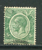 KENYA ET OUGANDA- Y&T N°2A- Oblitéré - Kenya & Uganda