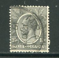 KENYA ET OUGANDA- Y&T N°3A- Oblitéré - Kenya & Uganda