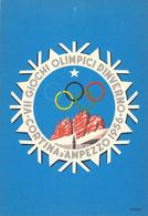 Italy Postcard 1956 Cortina Olympic Games - Mint (T23-52) - Inverno1956: Cortina D'Ampezzo