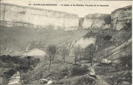 BAUME LES MESSIEURS , Le Chalet Et Les Echelles , Vue Prise De La Passerelle , 1907 - Baume-les-Messieurs