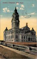 !  Alte Ansichtskarte 1914, Porto Alegre, Post Office - Porto Alegre