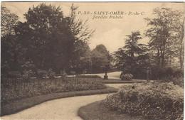 62  Saint Omer    -  Jardin Public - Saint Omer