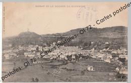 CPA [15] Cantal > Murat Et Le Rocher De Bonnevie - Cachet Maison Du Tourisme Le Lioran - Murat