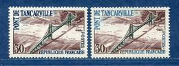 ⭐ France - Variété - YT N° 1215 - Couleurs - Pétouilles - Neuf Sans Charnière - 1959 ⭐ - Varieteiten: 1950-59 Postfris
