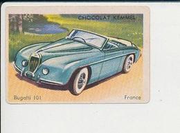 Image Chromo Chocolat Kemmel Voiture Bugatti 101  / 6-VIN-241 - Other
