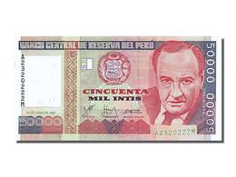 Billet, Pérou, 50,000 Intis, 1988, 1988-06-26, NEUF - Peru
