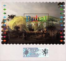 Czech Republic - 2021 - EXPO 2020 In Dubai - Mint Souvenir Sheet With Hologram And Varnish - Nuevos