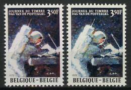 België 1622 - Dag Van De Postzegel - Astronaut - David R. Scott - 2 Kleurnuances - Curiosités