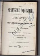 Inquisitie - Brieven Van Graaf J. De Maistre - P.J.Goetschalckx, Gent 1881 (S125) - Antique