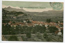 38 VARCES Vue Larges Maisons Du Bourg 1906 écrite Timb    D08 2019 - Andere Gemeenten