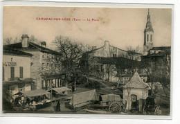 81 CAHUZAC Sur VERE Le Petit Marché Place Du Village  Commerce L'UNION Epicerie 1910     D09 2019 - Autres Communes