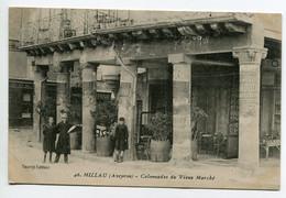 """12 MILLAU  Carte RARE Enfants Colonnades Place Du Vieux Marché Publicités """"Tourist Edition """"   D10 2019 - Millau"""