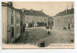 54 BLAMONT Animation Place Carnot Commerces Lib Ch Feys 68 -  1904 écrite Timb Voir Cachets  D10 2019 - Blamont