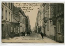 75 PARIS XVII Rue Lemercier  Commerces écrite  4 Avril 1916 Voir Dos      D10 2019 - Arrondissement: 17
