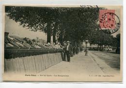 75 PARIS VECU  Les Bouquinistes Sur Les Quais    1906  écrite Timbrée   D10 2019 - Zonder Classificatie